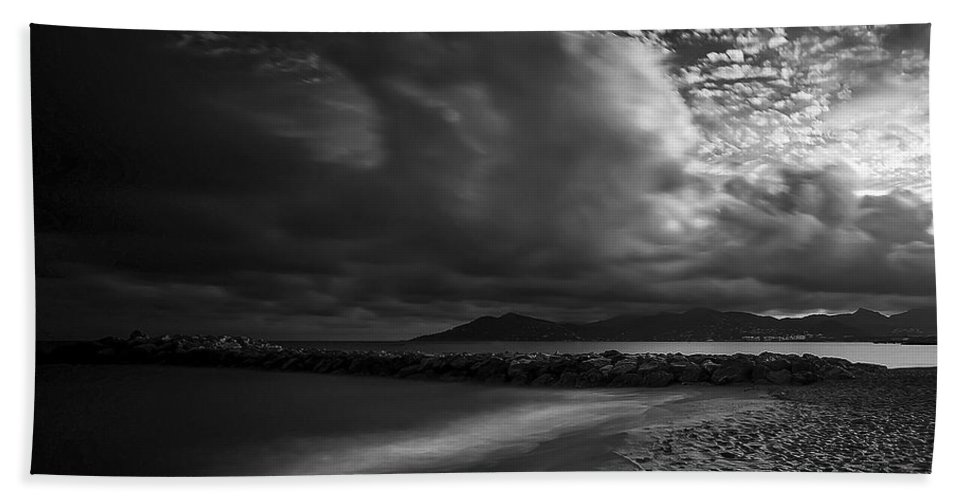 Beach Bath Sheet featuring the photograph Beach 37 by Ingrid Smith-Johnsen