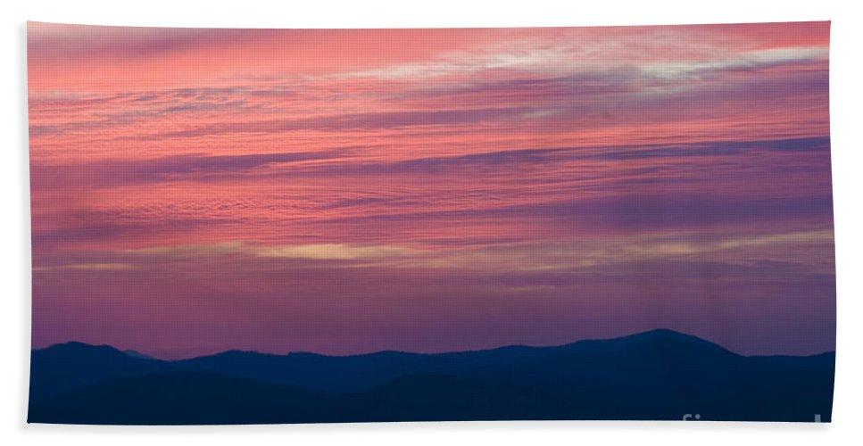 North America Bath Sheet featuring the photograph Blue Ridge Parkway Virginia by Jason O Watson