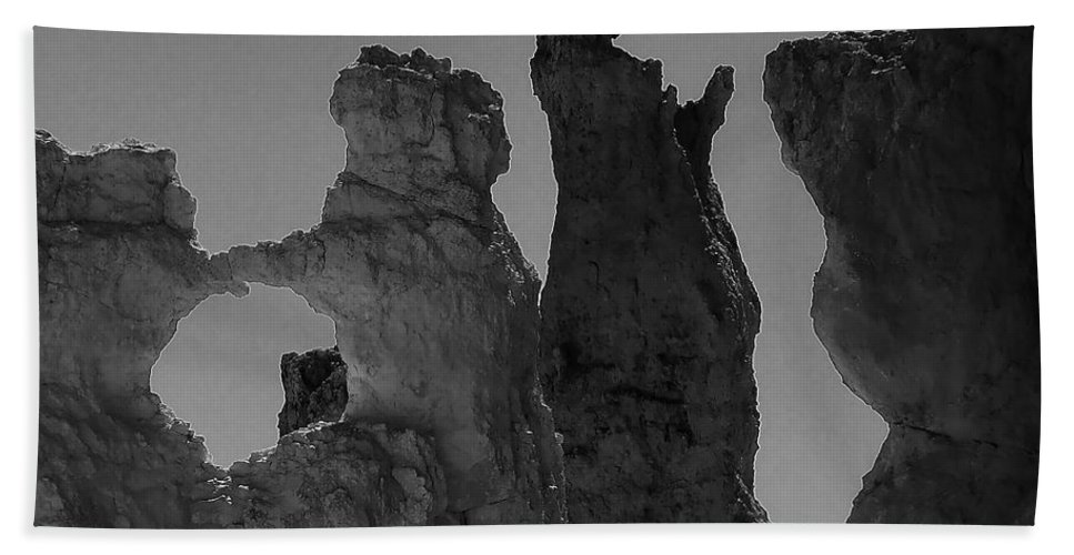 Adventure Bath Sheet featuring the photograph Bryce Canyon 1 by Ingrid Smith-Johnsen
