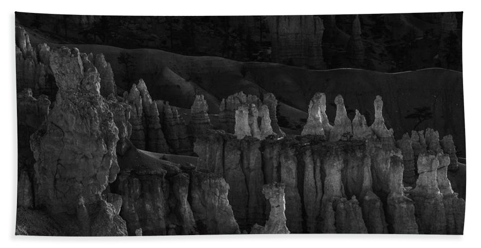 Adventure Bath Sheet featuring the photograph Bryce Canyon 13 by Ingrid Smith-Johnsen