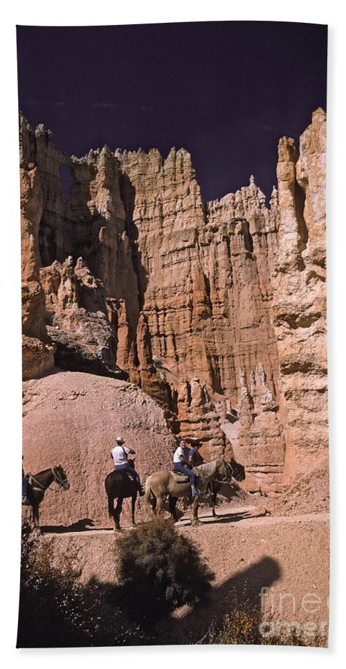 Bryce Bath Sheet featuring the photograph Bryce Canyon by Howard Stapleton