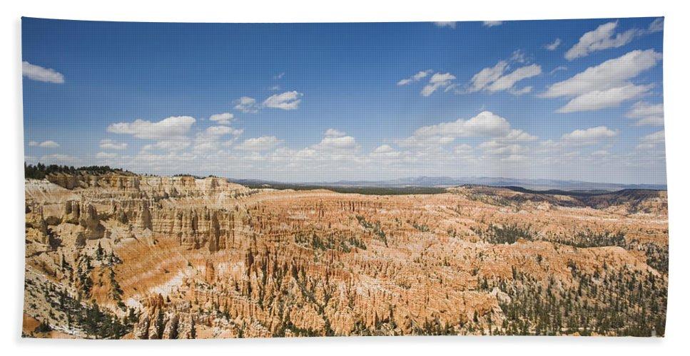 Landscape Bath Sheet featuring the photograph Bryce Canyon National Park by David Davis