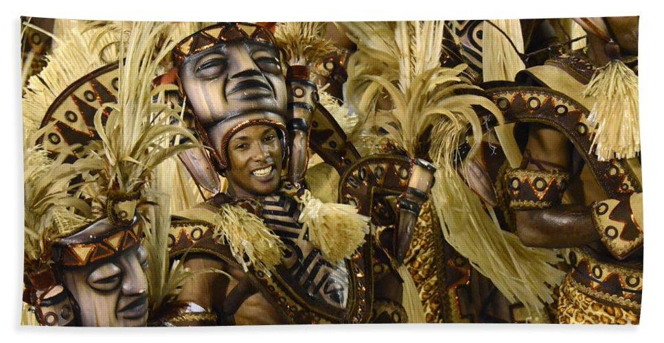 Carnival Bath Sheet featuring the photograph Carnival Rio De Janeiro 30 by Bob Christopher