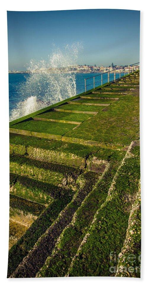 Cascais Bath Sheet featuring the photograph Cascais by Carlos Caetano