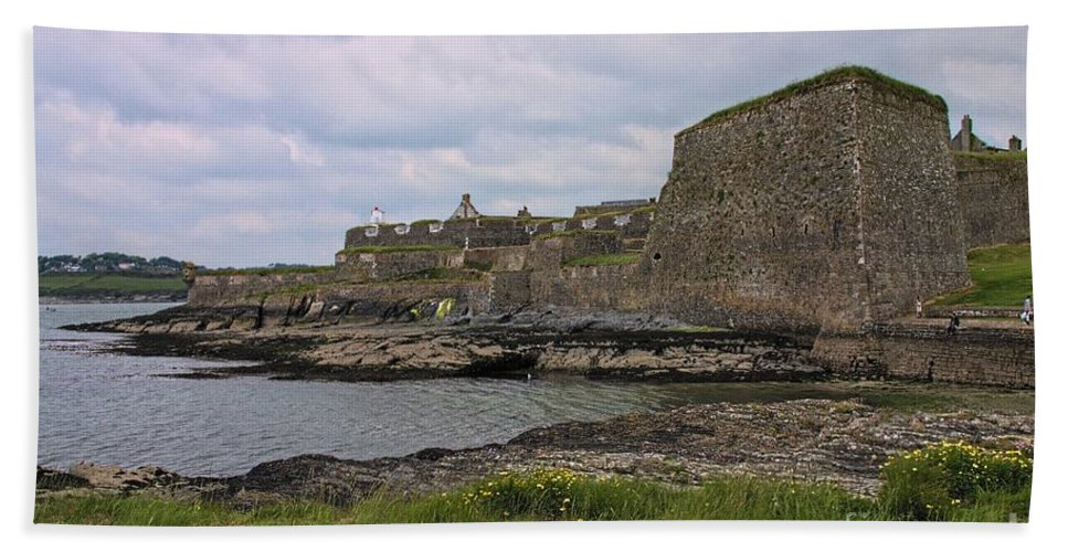 County Cork Bath Sheet featuring the photograph Charles Fort Kinsale by Jeremy Hayden