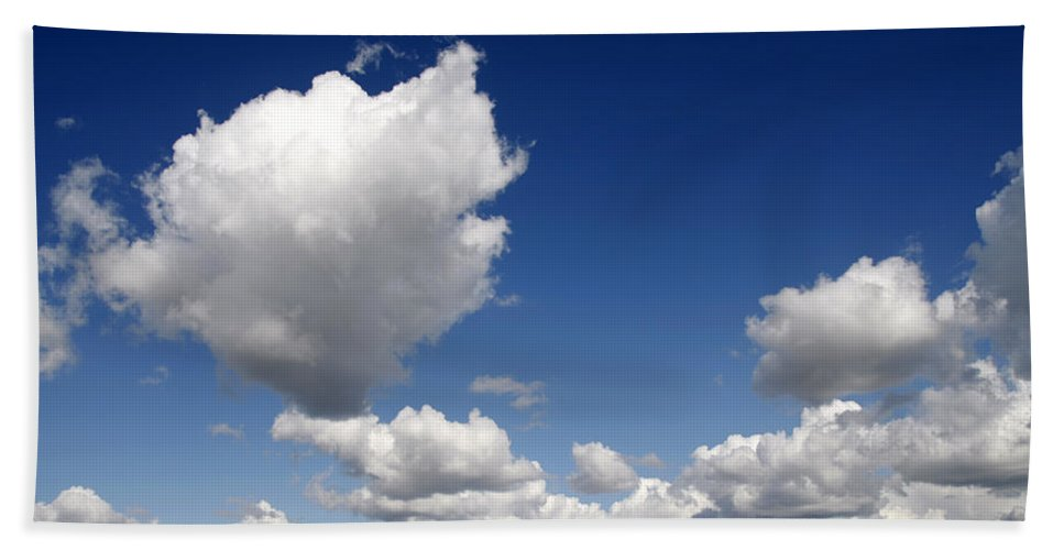Cloud Bath Sheet featuring the photograph Cloudscape by Steve Ball