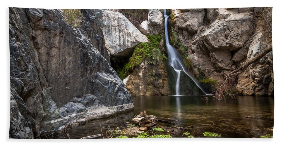 Water Bath Sheet featuring the photograph Darwin Falls by Cat Connor