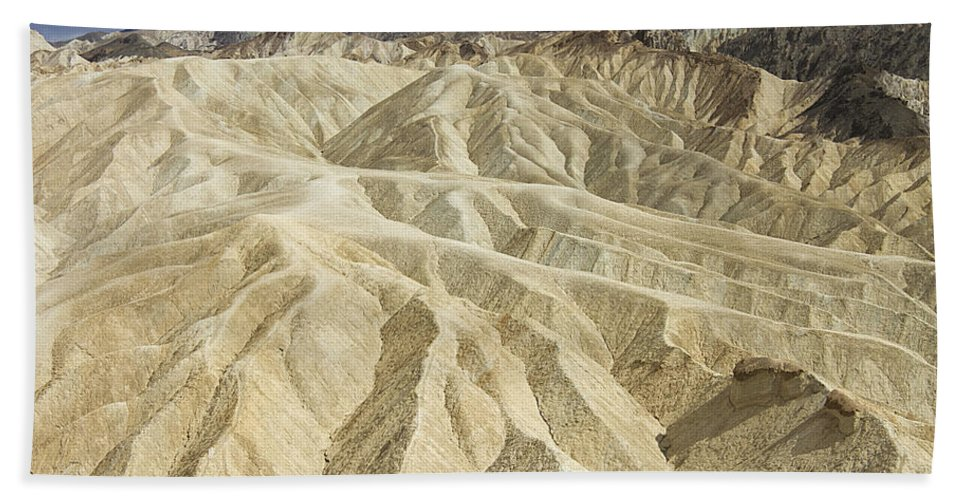 Death Valley Hand Towel featuring the photograph Death Valley by Peter Lloyd