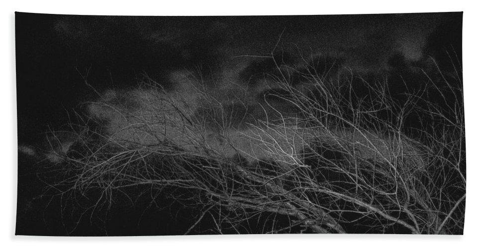 Film Noir Cinematographer Burnett Guffey Jacques Tourneur Nightfall 1957 Casa Grande Arizona 2004 Bath Sheet featuring the photograph Film Noir Cinematographer Burnett Guffey Jacques Tourneur Nightfall 1957 Casa Grande Arizona 2004 by David Lee Guss