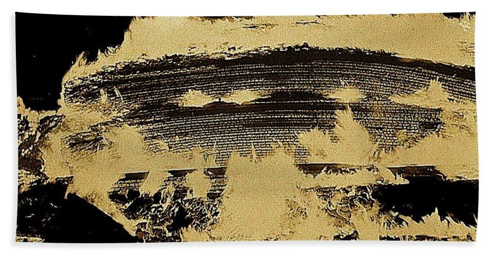 Film Noir Raoul Walsh James Cagney White Heat 1949 Fire Aberdeen South Dakota 1964 Bath Sheet featuring the photograph Film Noir Raoul Walsh James Cagney White Heat 1949 Fire Aberdeen South Dakota 1964 by David Lee Guss