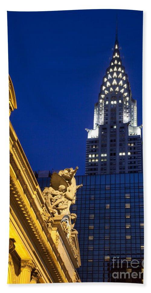 Grand Bath Sheet featuring the photograph Grand Central by Brian Jannsen