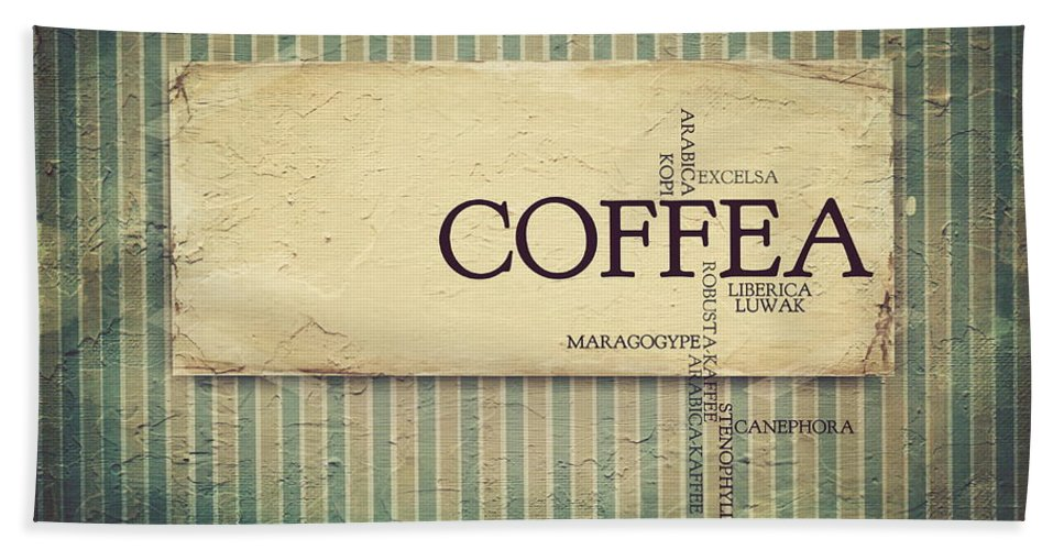 Coffee Bath Sheet featuring the photograph It's Coffee Time by Heike Hultsch