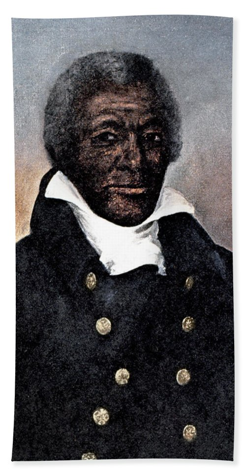 1824 Hand Towel featuring the photograph James Armistead Lafayette by Granger