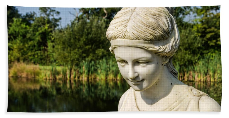 Lower-bruckland Bath Sheet featuring the photograph Lady Of The Lake by Susie Peek