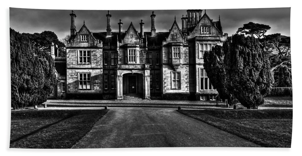 Ireland Hand Towel featuring the photograph Muckross House by Aidan Moran