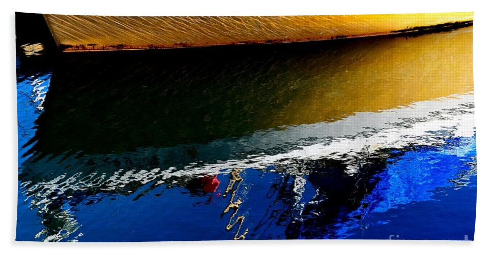 Abstract Hand Towel featuring the photograph New Day by Lauren Leigh Hunter Fine Art Photography