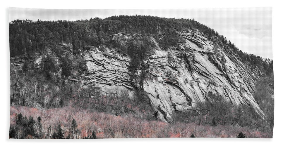 New Hampshire Bath Sheet featuring the photograph New Hampshire Mountain by Sherman Perry