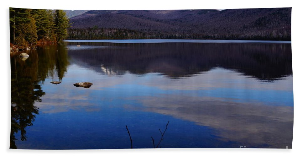 Lakes Hand Towel featuring the photograph Peace by Jeffery L Bowers