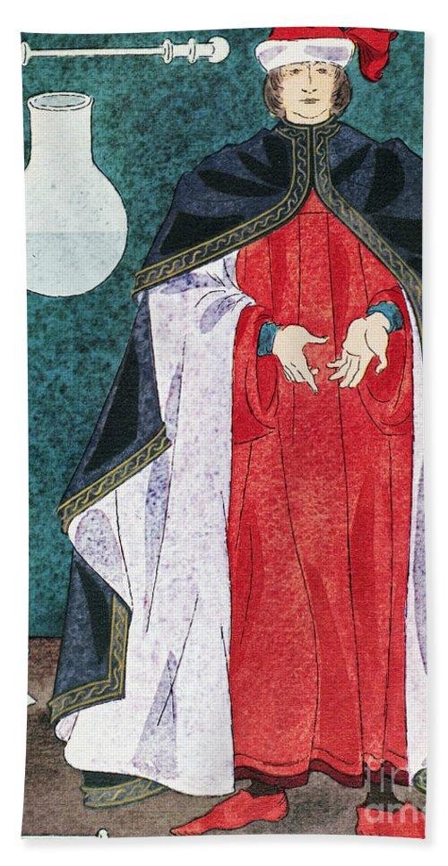 16th Century Hand Towel featuring the painting Physician 16th Century by Granger