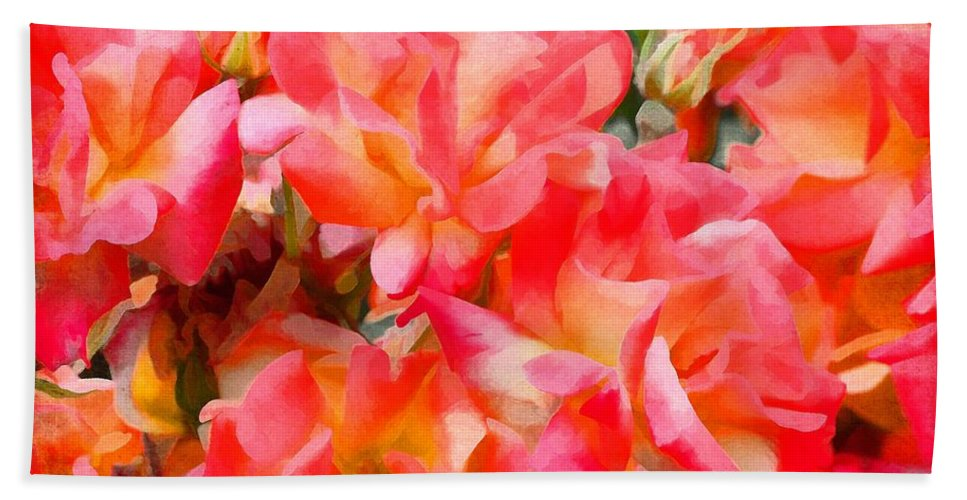 Floral Bath Sheet featuring the photograph Rose 303 by Pamela Cooper
