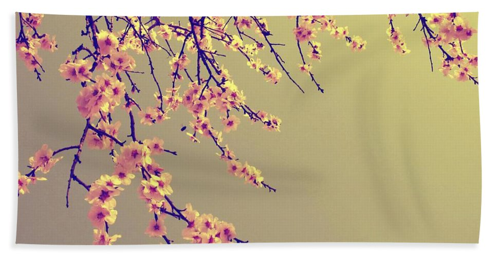 Sakura Bath Towel featuring the photograph Sakura by Marianna Mills
