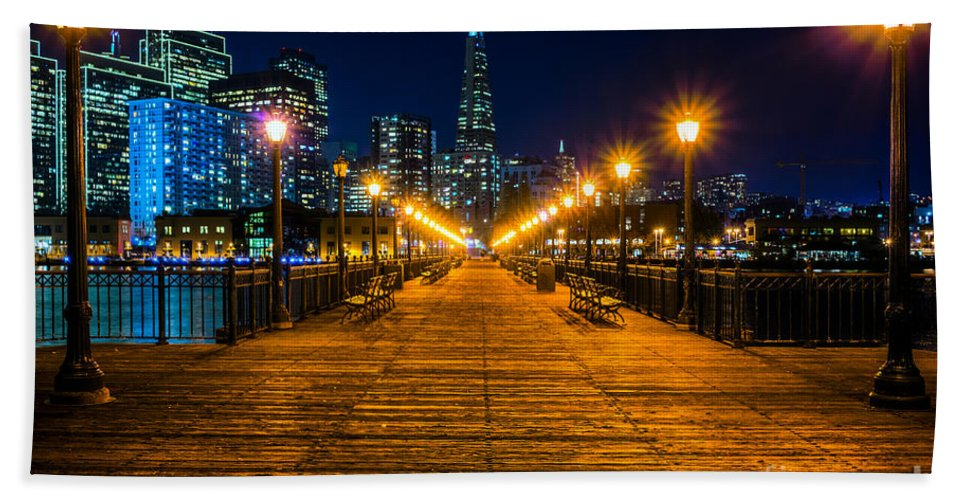 Francisco Hand Towel featuring the photograph San Francisco by Luciano Mortula