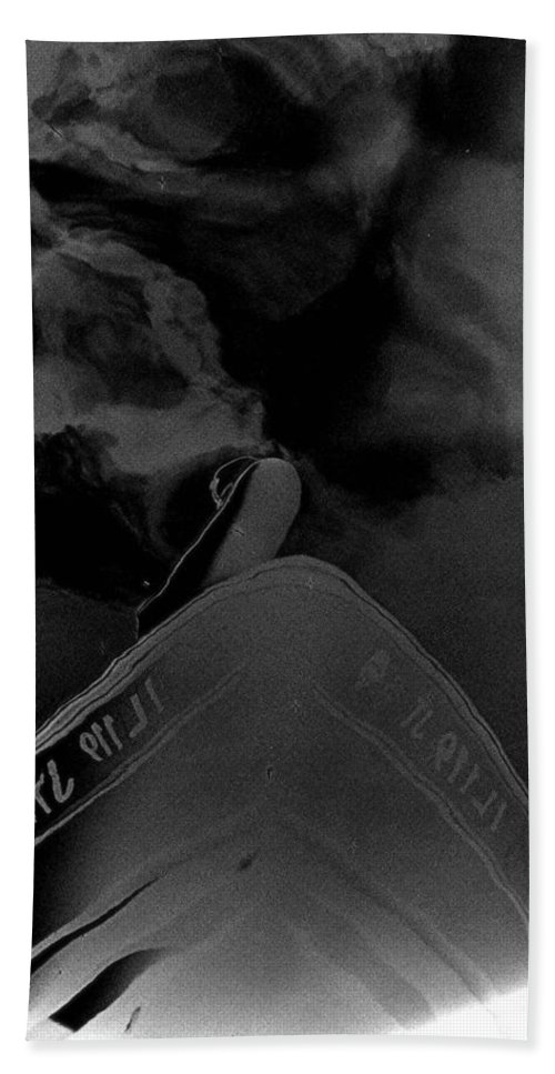 Boats Bath Sheet featuring the photograph Smoke On The Water by Stacie Adams