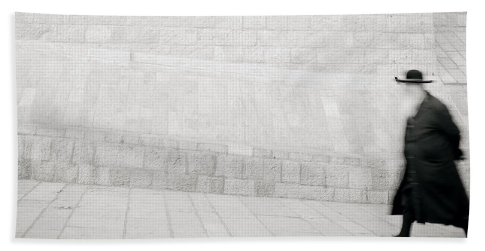 Jerusalem Hand Towel featuring the photograph Solitude by Shaun Higson
