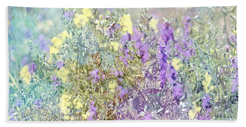 Summer Meadow Bath Sheet featuring the photograph Sommer Meadow by Heike Hultsch