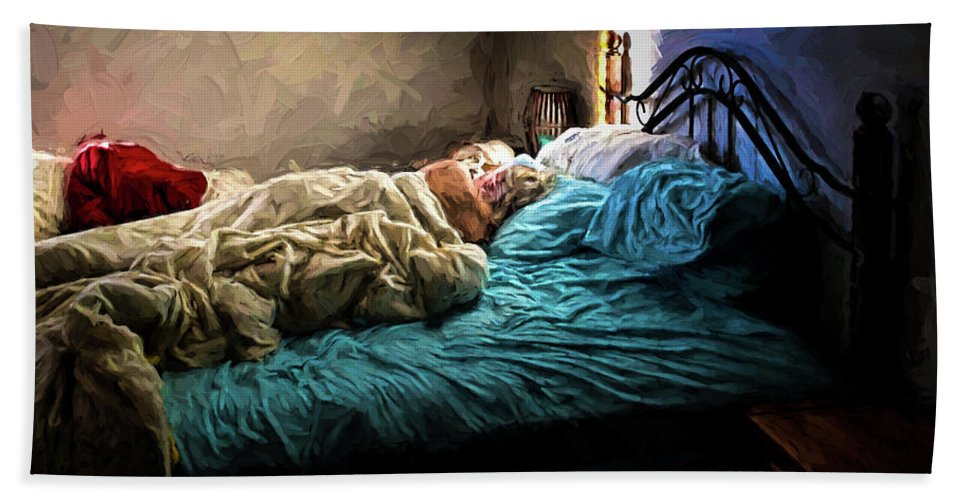 Nature Hand Towel featuring the photograph Sunday Morning by Bob Orsillo