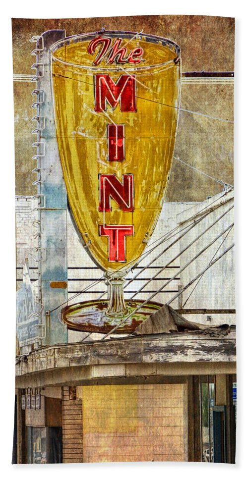 Art Hand Towel featuring the photograph The Mint by Randall Nyhof