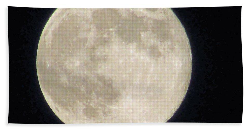 Moon Bath Sheet featuring the photograph Thunder Moon by Jamie Smith