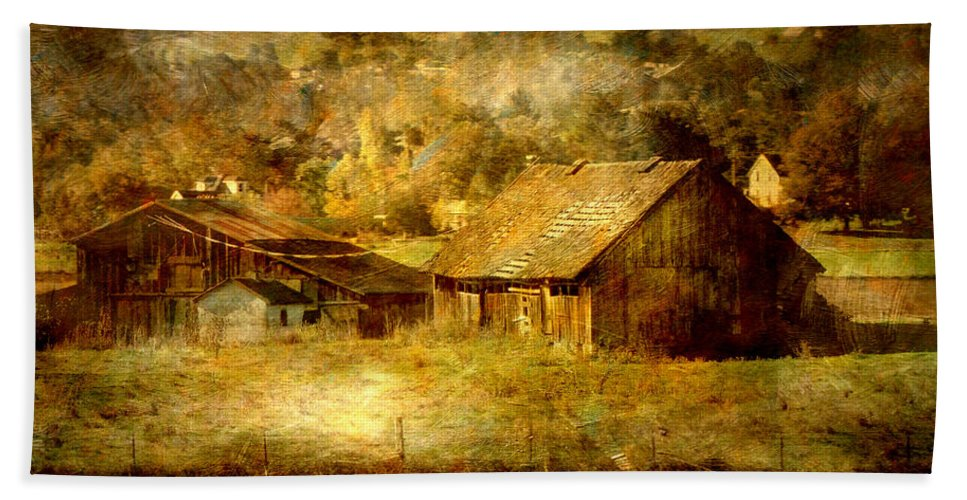 Napa Bath Sheet featuring the photograph Timeless by Shawn McMillan