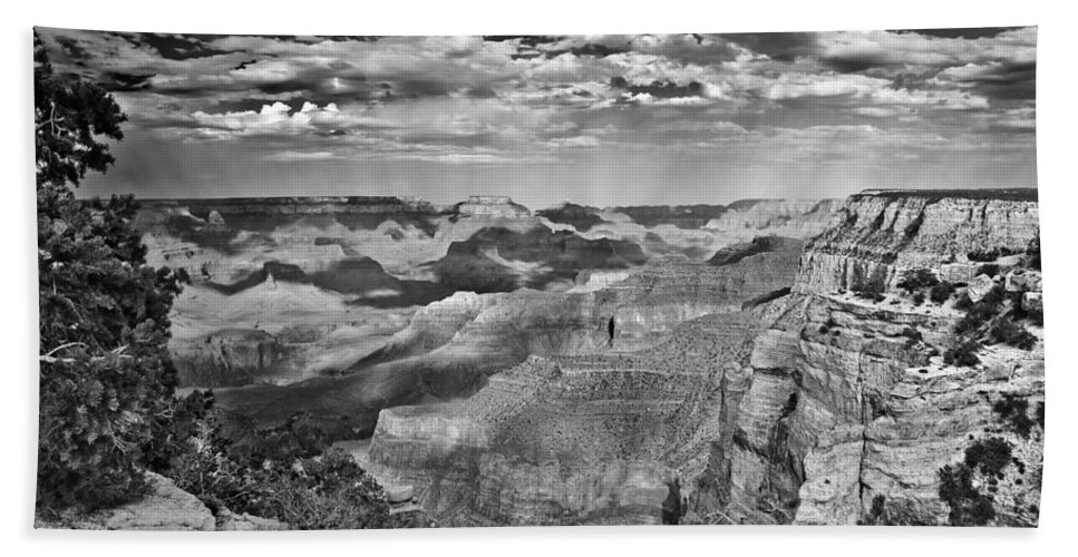 Grand Canyon Hand Towel featuring the digital art West Rim Grand Canyon National Park by Bob and Nadine Johnston