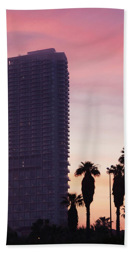 Photography Bath Sheet featuring the photograph Low Angle View Of An Office Building by Panoramic Images