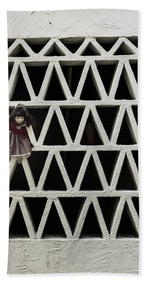 Doll Hand Towel featuring the photograph Old Doll by Joana Kruse