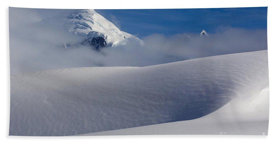 Antarctica Bath Sheet featuring the photograph Antarctica by John Shaw