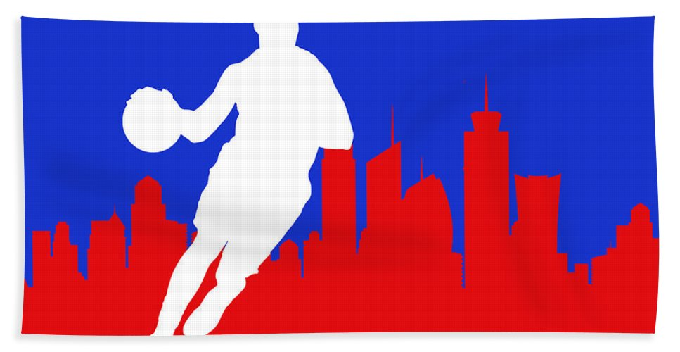 Chris Paul Hand Towel featuring the photograph Los Angeles Clippers by Joe Hamilton