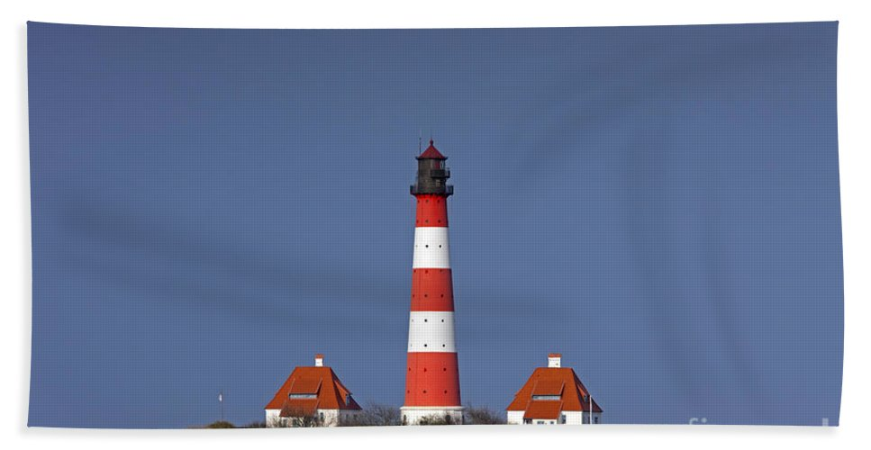 Lighthouse Hand Towel featuring the photograph 121213p119 by Arterra Picture Library