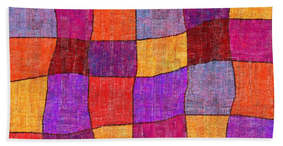 Abstract Hand Towel featuring the digital art 1343 Abstract Thought by Chowdary V Arikatla