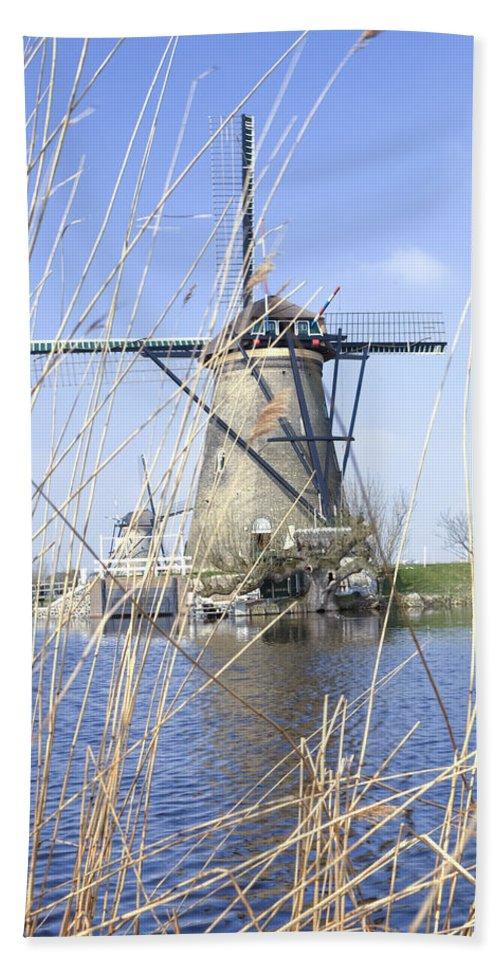 Kinderdijk Bath Sheet featuring the photograph Kinderdijk by Joana Kruse
