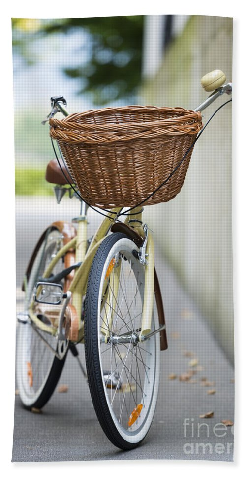 Bicycle Bath Sheet featuring the photograph Bicycle by Mats Silvan