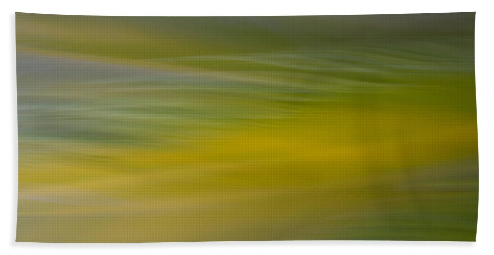 Blur. Motion Blur Bath Sheet featuring the photograph Blurscape by Dayne Reast