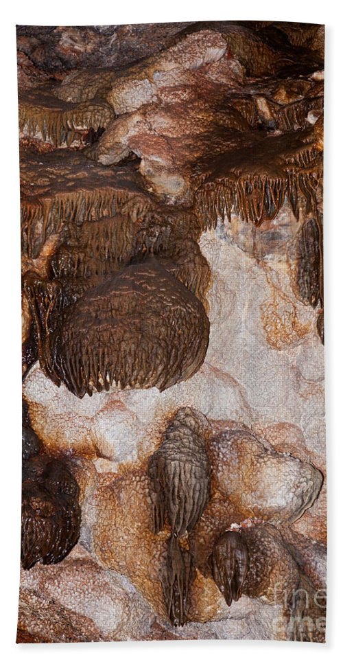 Autumn Hand Towel featuring the photograph Jewel Cave Jewel Cave National Monument by Fred Stearns