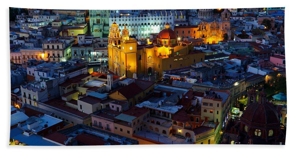 Travel Bath Sheet featuring the photograph Guanajuato, Mexico by John Shaw