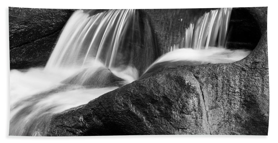 Beautiful Hand Towel featuring the photograph Waterfall by Les Cunliffe