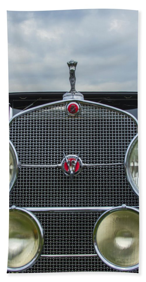 Antique Hand Towel featuring the photograph 1930 Cadillac V-16 by Jack R Perry