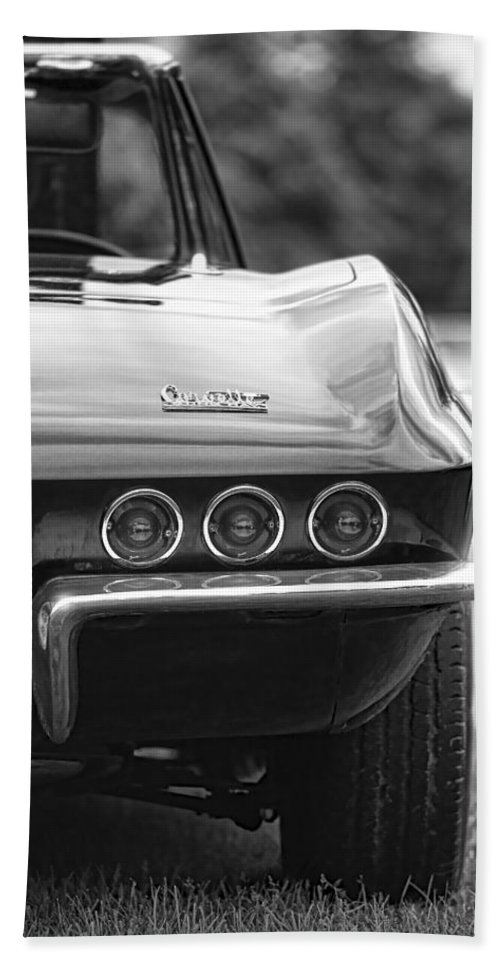 Chevy Hand Towel featuring the photograph 1967 Chevy Corvette Stingray by Gordon Dean II