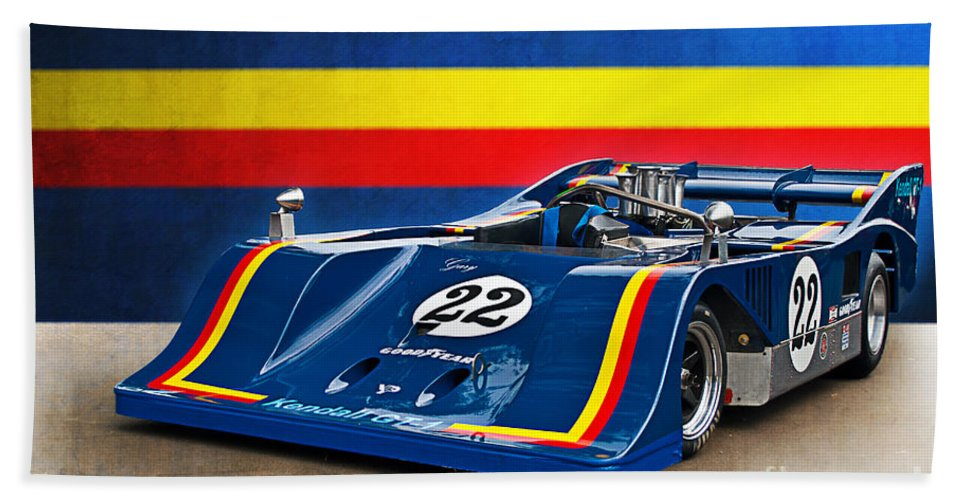 1974 Bath Sheet featuring the photograph 1974 Can-am Sting Gw1 by Stuart Row