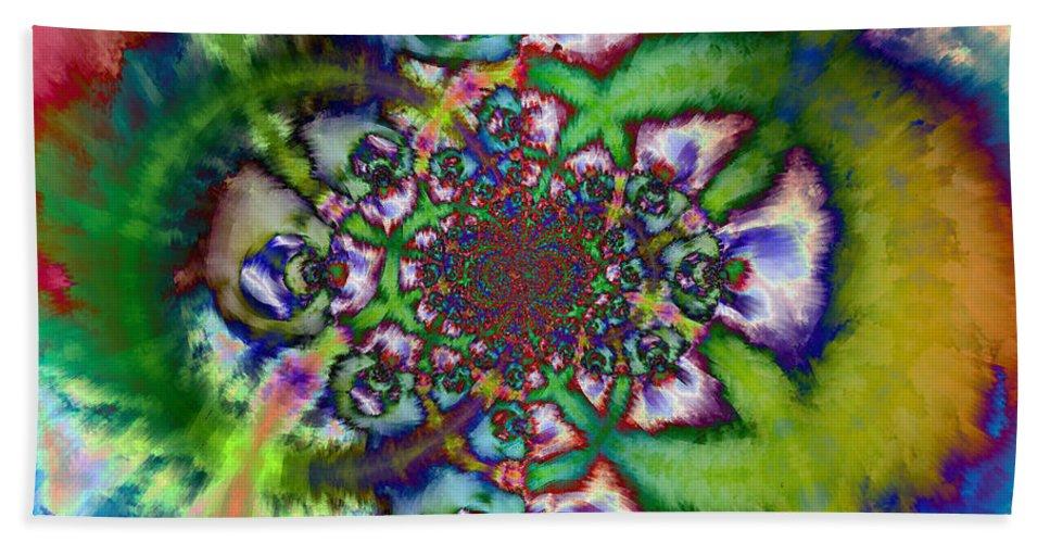 Hand Towel featuring the digital art 1997013 by Studio Pixelskizm